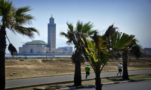Zdjecie MAROKO / Casablanca / Casablanca / Meczet