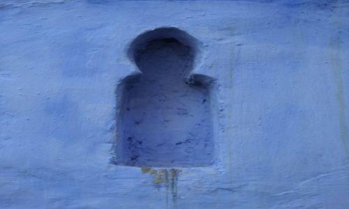 Zdjecie MAROKO / północne Maroko / Szewszawen / niebieski zajawki
