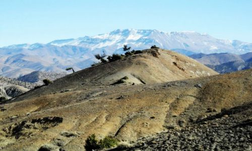 Zdjecie MAROKO / Wysoki Atlas / Wysoki Atlas / Piekna góra