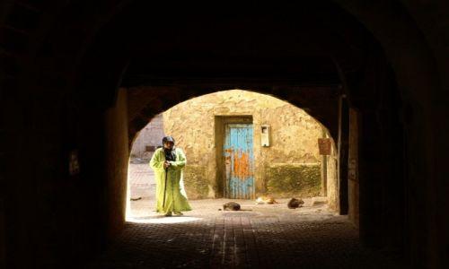 Zdjęcie MAROKO / - / Marrakech / ulice Marrakechu