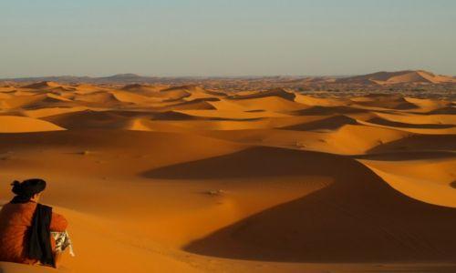 Zdjecie MAROKO / Sahara / Merzouga / Duch Pustyni