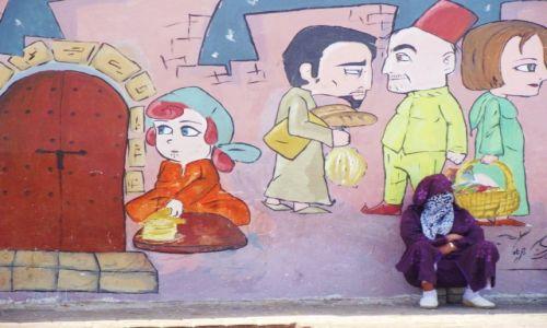 Zdjecie MAROKO / Essaouira / Essaouira / nie do końca obraz na ścianie