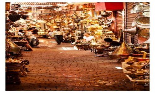 Zdjecie MAROKO / Marrakesz / Marrakesz / Bazaar w Marrakeszu