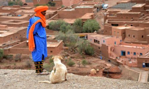Zdjecie MAROKO / centralne Maroko / Orzazate / z widokiem na myśli moje