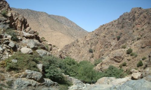 Zdjęcie MAROKO / Góry Atlas / Maroko / krajobrazy Maroka