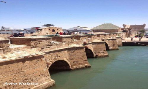 MAROKO / Południe / Essaouira / Essaouira - twierdza