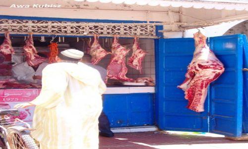 MAROKO / Południe / Essaouira / Essaouira - stragany na suku