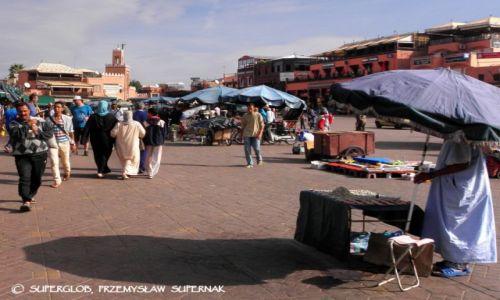 MAROKO / Marrakesz / MArrakesz / Dżemaa el-Fna 1