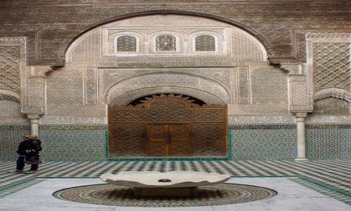 Zdjęcie MAROKO / centrum Maroka / Fes / Medresa Al-Attarin