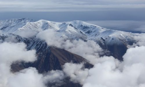 Zdjecie MAROKO / Atlas Wysoki / Jebel Toukbal  / Widok z Jebel Toukbal 4167 m n.p.m.