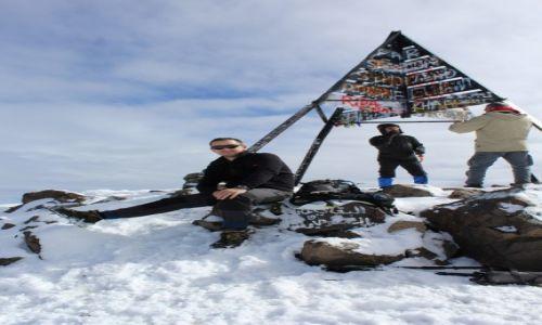 Zdjecie MAROKO / Atlas Wysoki / Jebel Toukbal  / Urodziny na szczycie