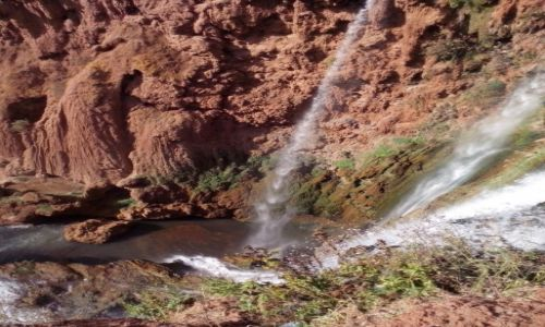 Zdjecie MAROKO / - / Maroko / Wodospad Uzud