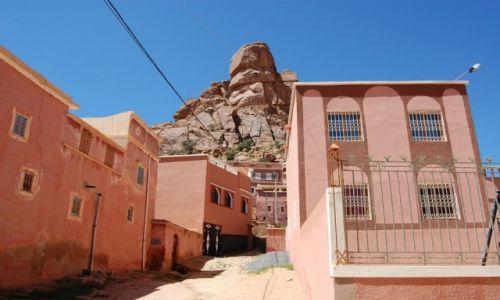 Zdjęcie MAROKO / - / maroko / Na różowo.