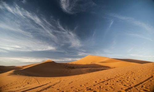 Zdjecie MAROKO / Merzouga / Merzouga / pustynia