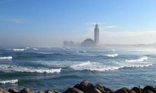 Zdjęcie MAROKO / Casablanca / Casablanca / Meczet Hassana II