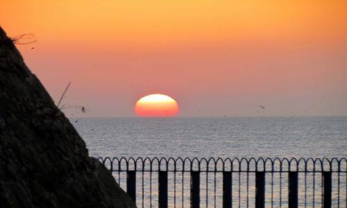 Zdjecie MAROKO / Safi / Safi / Zachód słońca nad Atlantykiem