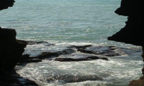 Zdjecie MAROKO / Tanger / Okolice Tangeru / Widok z jaskini Herkulesa