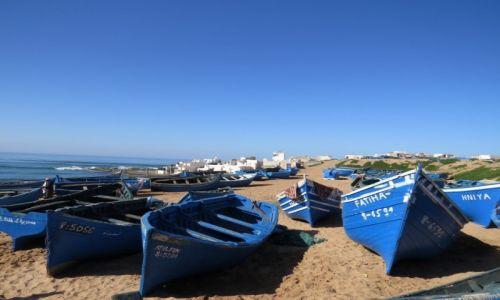 Zdjecie MAROKO / Tifnit / Tifnit / Rybacka osada w Maroku