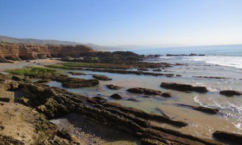 Zdjecie MAROKO / Taghazout / Taghazout / Secret Beach w okolicach Taghaznout