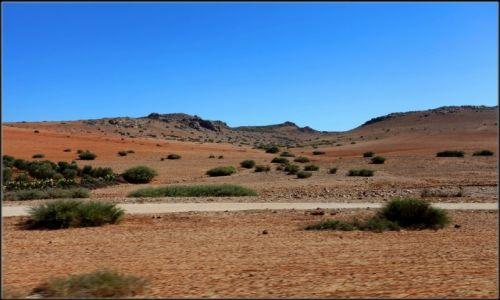 Zdjęcie MAROKO / Centralne Maroko / Pustynia / Gdzieś tam w drodze