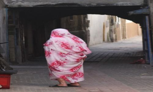 Zdjecie MAROKO / Zachodnie Maroko / Essaouira / Marokanka