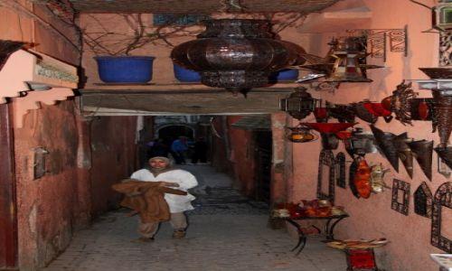 Zdjecie MAROKO / Południowe Maroko / Marrakesz / Zaułki mediny