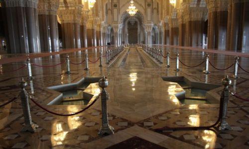 Zdjęcie MAROKO / Zachodnie Maroko / Casablanka / Meczet Hassana II