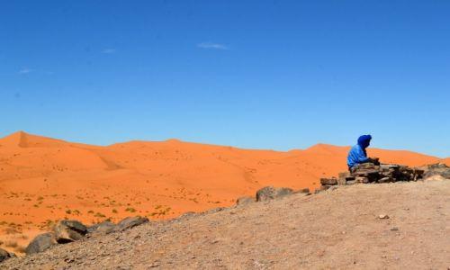 Zdjęcie MAROKO / Errachidia / Erg Chebbi / Berber
