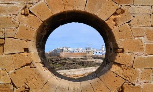 Zdjecie MAROKO / Essaouira / Essaouira / Oko na Maroko