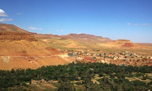 Zdjęcie MAROKO / Ouarzazate / Tinghir / Oaza