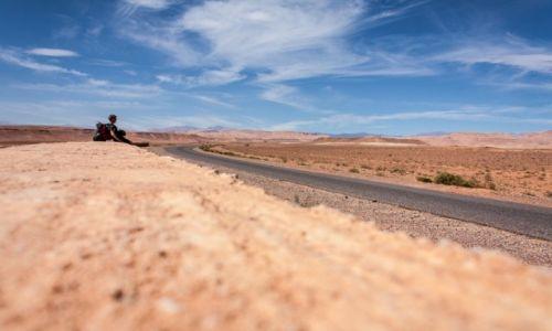 Zdjecie MAROKO / Sus-Masa-Dara / Gdzieś pośrodku nigdzie / W drodze do Ajt Bin Haddou
