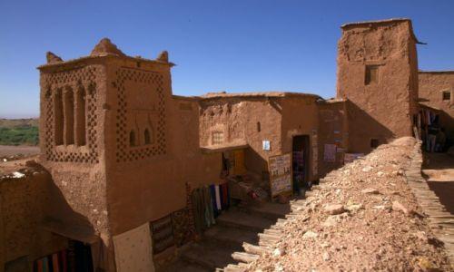 Zdjęcie MAROKO / Ouarzazate / Ait-Ben-Haddou / Architektura prostoty