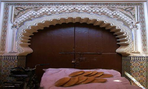 Zdjecie MAROKO / Ouarzazate / Marrakesz / Chleb