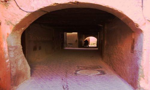 Zdjecie MAROKO / Tensift Al Hauz / Marrakesz / Brama
