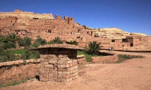 Zdjęcie MAROKO / Ouarzazate  / Ait Benhaddou / Kasbah