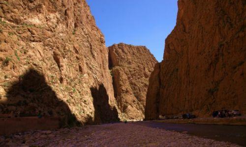 Zdjecie MAROKO / Ouarzazate  / Teneghir / Wąwóz Todra