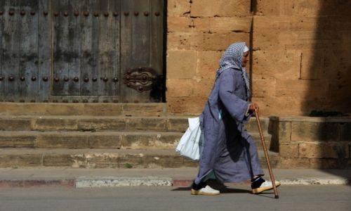 Zdjęcie MAROKO / Rabat / Rabat / Muslimka