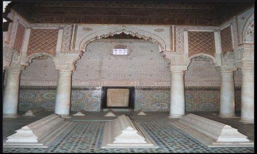 MAROKO / brak / Marrakech / grobowce Sadytów