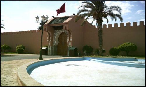 MAROKO / brak / Marrakech / Royal Palace-zakazane zdjęcie