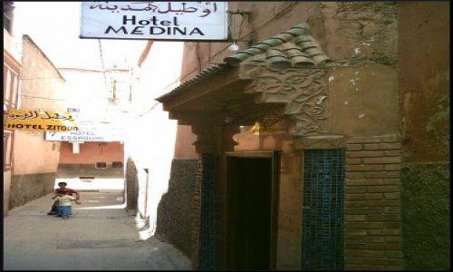 Zdjęcie MAROKO / brak / Marrakech / Uliczka medyny