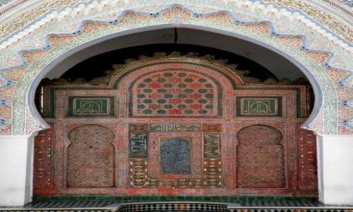 Zdjęcie MAROKO / płn Maroko / Meknes / Meczet