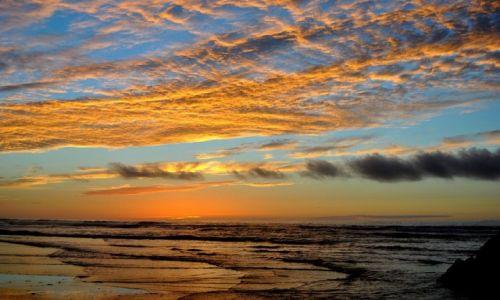 Zdjęcie MAROKO / LEGZIRA / LEGZIRA / zachód słońca w Maroko