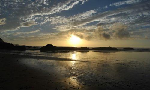 Zdjęcie MAROKO / LEGZIRA / LEGZIRA / zachód słońca