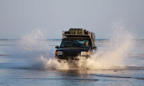 Zdjecie MAROKO / Agadir / Plage Imourane / Rejs Land Roverem po Atlantyku