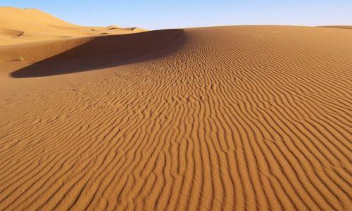 Zdjecie MAROKO / Sahara / Erg Chebbi / Sahara