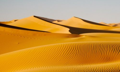 MAROKO / Erg Chebbi / na pustyni / Piachy