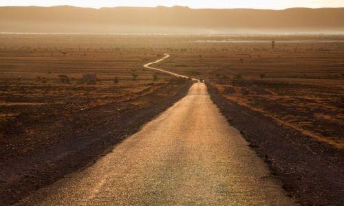 MAROKO / Sahara / Tamegroute / Droga przez Saharę