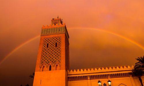 Zdjecie MAROKO / Marrakesz / Marrakesz / Tęcza fot. Remigiusz Latek