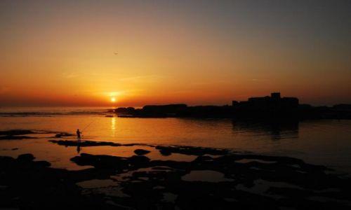 Zdjęcie MAROKO / Wybrzeże Atlantyku / Essaouira / Zachód słońca w Essaouira
