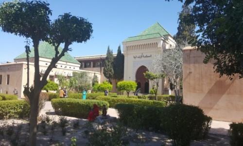 Zdjęcie MAROKO / Marrakech / Marrakech / Pałac